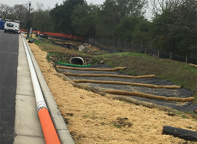 Storm Water Erosion Control